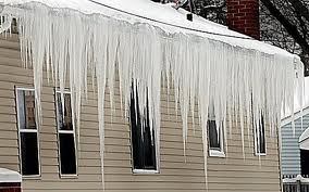 Roof Gutter Icicles